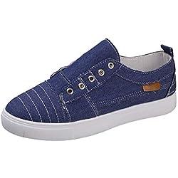 Zapatos Deporte Mujer Zapatillas de Mezclilla
