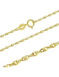Goldkette mit federanhänger  Suchergebnis auf Amazon.de für: goldkette - Kinder & Jugendliche ...