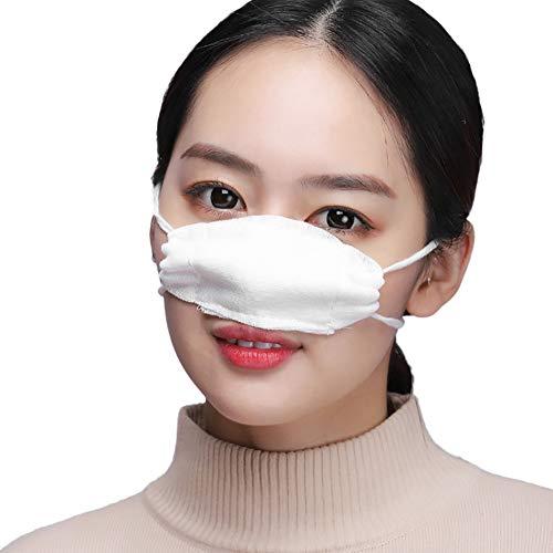 chkeit Manuelle Produktion Baumwollgaze Nasenmaske Verdicken Kälteschutz Ascheverhinderung Reinig Bequem und atmungsaktiv Schlafschutz (Zehn Stück Belastung) ()