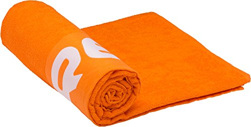 Cressi telo mare e telo sport in cotone e microfibra, arancione, l