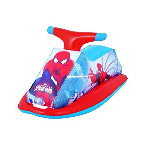 Bestway 98012 gonfiabile moto d'acqua spiderman giochi acquatici per bambini mws