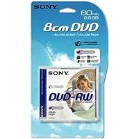 Sony DVD-RW 2.8Gb 8cm 60min Pk 4+1 rewritable mini dvd camcorder discs