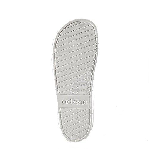 adidas Aqualette Cloudfoam, Chaussures de Plage et Piscine Homme Rouge (Core Red/footwear White/core Red)