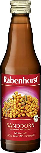 Rabenhorst Sanddorn Muttersaft Bio, 6er Pack (6 x 330 ml)