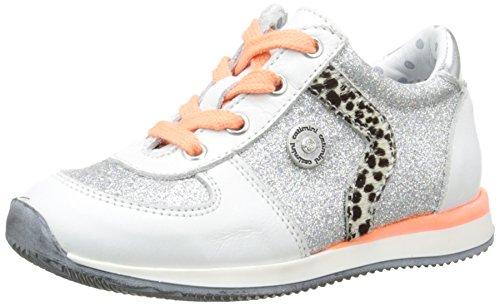 Catimini Mädchen Catalpa Sneaker Silber - Argent (51 Svt Argent/Blanc Dpf/2637)