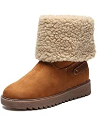 Stivali Invernali da Donna Stivali Corti di Cotone Stivali da Neve Caldi  Due Abiti Corti Stivali 19708325198