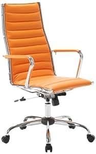 Easychair Sedia Classica da Ufficio, Colore: Arancione ...