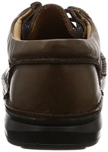 Birkenstock Shoes Pasadena Damen Derby Schnürhalbschuhe Dark Brown