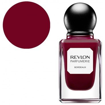 Revlon Nagellack Nr. 090, 11,7 ml, Bordeauxrot (Revlon Base Coat)