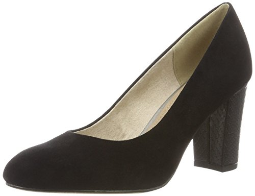 s.Oliver Damen 22403 Pumps Schwarz (Black 001)