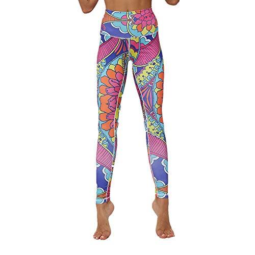 zhja ms. yoga leggings flessibilità flessibilità classica pantaloni da corsa leggings a vita alta per leggings pantaloni da yoga a vita alta con stampa digitale