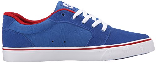 DC Shoes Anvil D0303190, Sneaker Uomo Blue/red/white