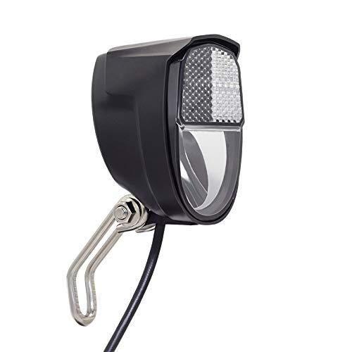 Szblk Elektro-Fahrrad-Licht-Scooter Scheinwerfer LED-Lampe Eingang 12V 24V 36V 48V for Bafang