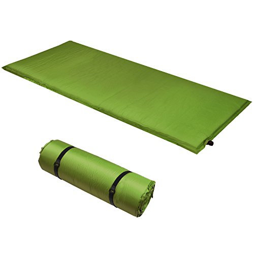 ALPIDEX Isomatte Selfinflating Matte Selbstaufblasende Outdoor Thermomatte in verschiedene Größen und Farben, Farbe:military, Maße:200 x 66 x 10 cm