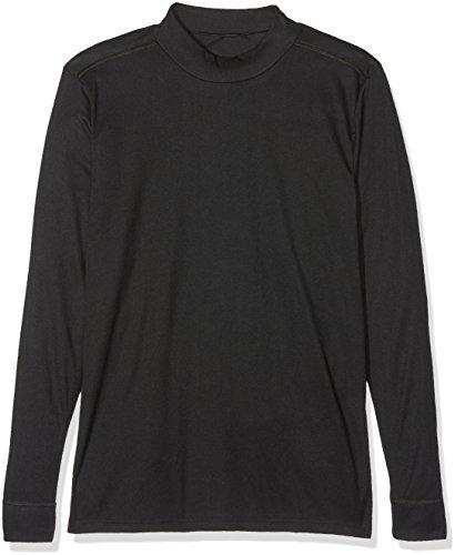 Dodo Homewear Herren Thermounterwäsche-Oberteil, 2er Pack Noir (Noir)