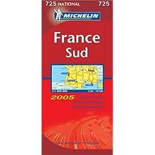 Carte routière : France Sud