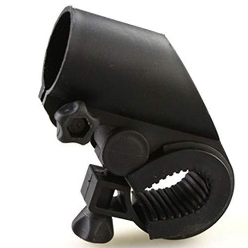 HoganeyVan Gun Form Fahrrad Licht Halter Taschenlampe Halterung Lampensockel Licht Clip Fahrrad Zubehör Auto Clip Rack