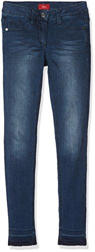 s.Oliver Mädchen Jeans 66.708.71.2982, Blau (Blue Denim Stretch 56Z7), 164 (Herstellergröße: 164/REG)
