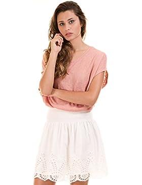 Falda ibicenca crochet blanca de Vila Clothes