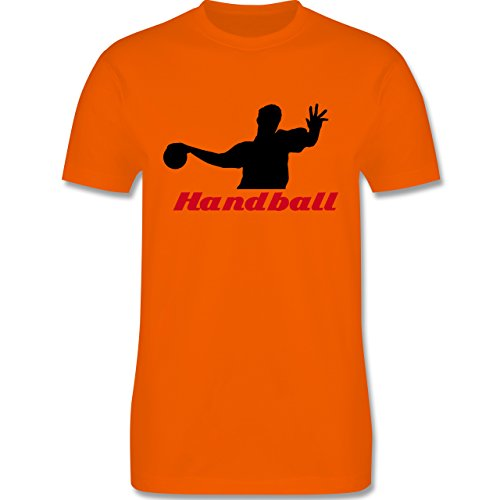 Handball - Handball - Herren Premium T-Shirt Orange