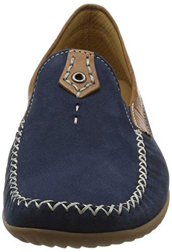 Gabor Comfort, Mocassins Femme Bleu (navy/copper 46)
