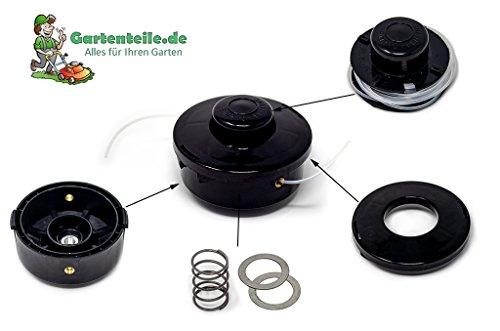 Doppelfadenspule Ersatzspule Fadenspule Trimmerspule Doppelfadenkopf für Motorsense und Motortrimmer M10 x 1,25