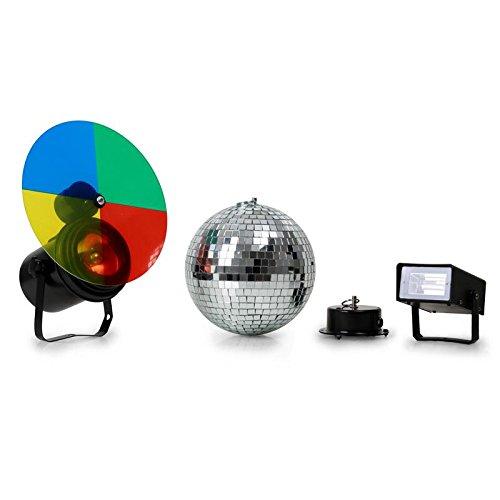 Beamz 151.250–stroboscopes & Disco Lights (Black, Blue, Green, Mirror, Red, Yellow, Blue, Green, Red, Yellow, AC, 220–240)