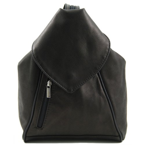 Tuscany Leather - Sac à dos cuir - Noir