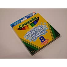 8 Pack Assorted Crayola Broadline Washable Marker Pens
