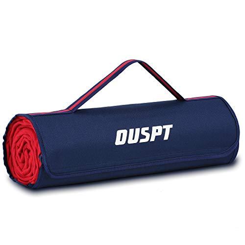 OUSPT Picknickdecke 200 x 200 cm Campingdecke wärmeisoliert wasserdicht mit Tragegriff