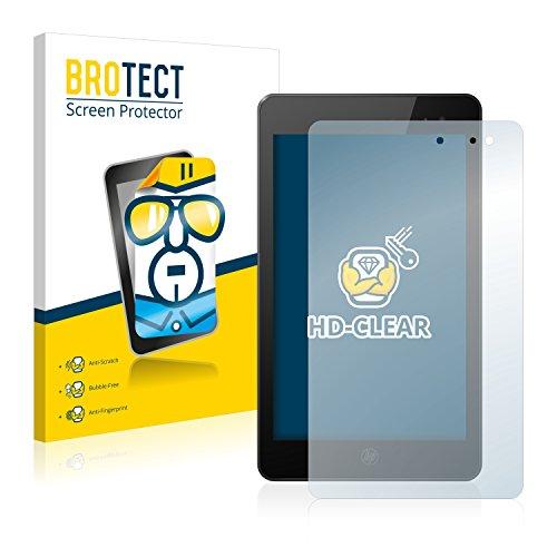BROTECT Schutzfolie kompatibel mit HP Envy 8 Note [2er Pack] klare Bildschirmschutz-Folie