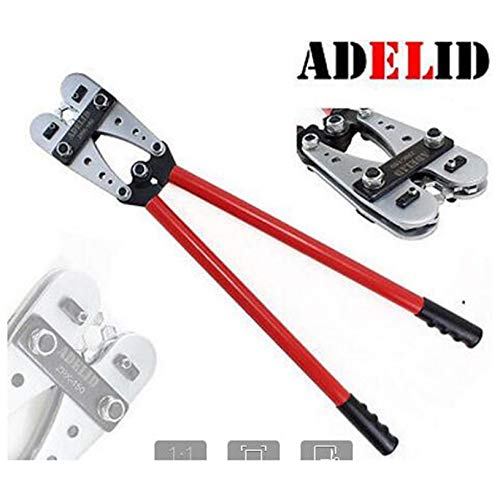 10-120mm2 Crimping Pliers Wire Terminal Crimping Tool Anti-Slip Cable Crimper Durable Electrician Ratchet Plier -