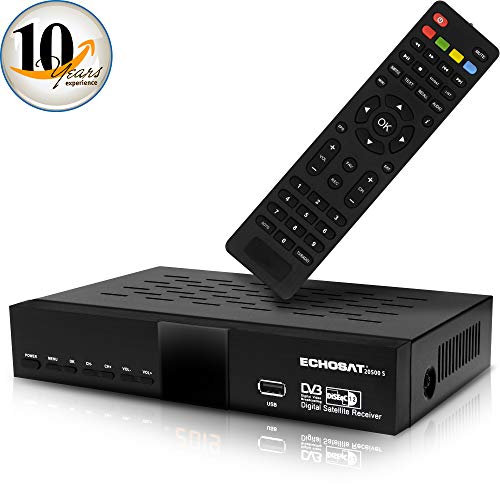 hd-line Echosat 20500 S Digitaler Satelliten HD Receiver (HDTV, DVB-S /DVB-S2, HDMI, AV, 2x USB 2.0, Full HD 1080p, Digital Audio Out) [Vorprogrammiert für Astra, Hotbird und Türksat] [PDF] -