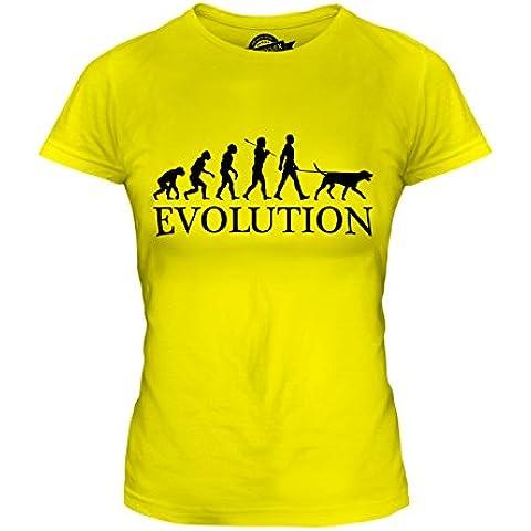 CandyMix Dalmata Razza Canina Evoluzione Umana T-Shirt