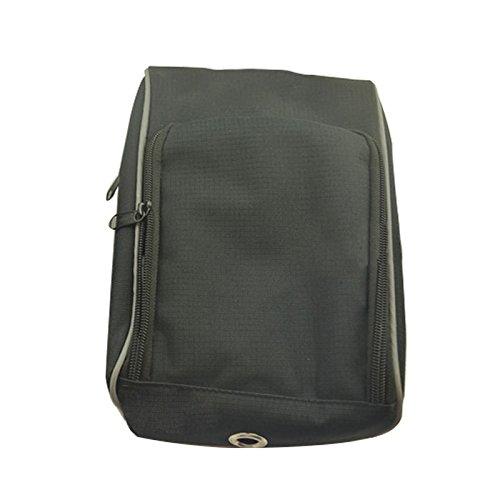 XY&GKElektroroller Trolley bag Fahrradtasche Werkzeugtasche Nylon Tasche Armaturen vorderer Träger Wasserdicht, machen Ihre Reise angenehmer 26x18x10cm black