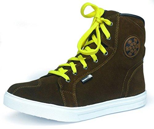 el Touren Stiefel Sneaker Leder Braun Twister 42 ()