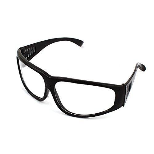 Zwarte Vul Rim ovale lens Clear lasbril brillen