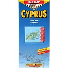 Chypre : Cyprus : 1/275 000