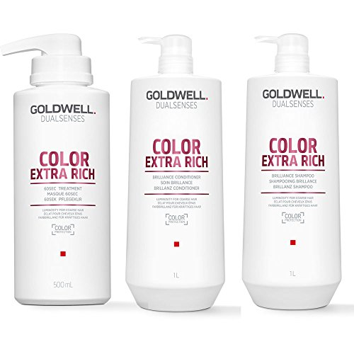 Dualsenses Couleur Extra riche de brillance Super Taille Hair Care Lot (3 produits)