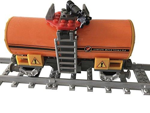 Lego City kompatibel Eisenbahn Waggon-Tankwaggon ( Wassertanker ) Neu