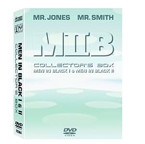 MIIB - Men in Black Collector's Box Teil 1 & 2 3 DVDs