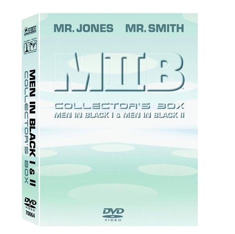 MIIB - Men in Black Collector's Box (Teil 1 & 2) (3 DVDs)