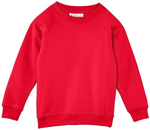 Trutex Limited Unisex, Sweatshirt, 260G Crew Neck Rot (Scarlet)