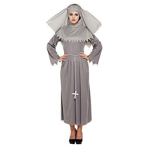 VERKLEIDUNG ERWACHSENE GEIST SCHWESTER (Schwester Kostüme Für Geist Erwachsene Nonne)