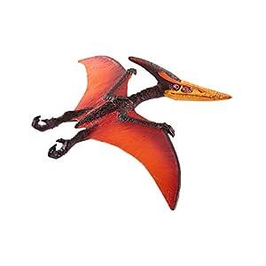 Schleich Pteranodon, Color marrón, Naranja, Rojo (15008)