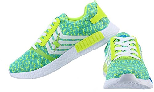 Sparx Women Running Shoes (Green, White) (Sl-83)