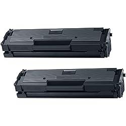 Prestige Cartridge MLT-D111S Kit 2 Toner compatibile per Stampanti Samsung Xpress SL-M2020, M2020W, M2021, M2021W, M2022, M2022W, M2026, M2026W, M2070, M2070W, M2070FW, M2070F, M2071, M2071W