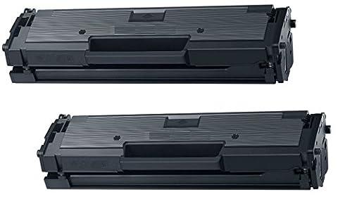 Prestige Cartridge MLT-D111S Pack of 2 Laser Toner Cartridges for Samsung Xpress SL-M2020, M2020W, M2021, M2021W, M2022, M2022W, M2026, M2026W, M2070, M2070W, M2070FW, M2070F, M2071, M2071W,