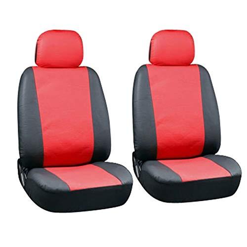 Auto-Sitzabdeckung Four Seasons Universal-Sitz Auto-Innen Produkte Satteldecke zurück Abdeckungen Kopfstütze Taschen (rot) DEjasnyfall