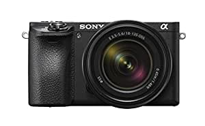 Sony Alpha a6500 Mirrorless Camera with E 18-135mm f/3.5-5.6 OSS Lens with 16GB Card, and Bag (Black)